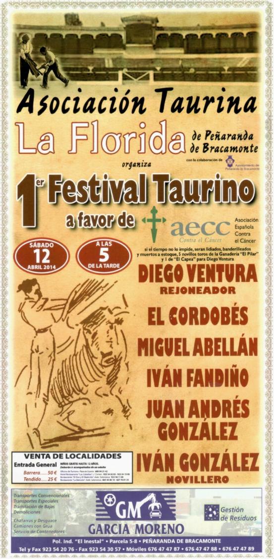 Peñaranda 2014. Festival