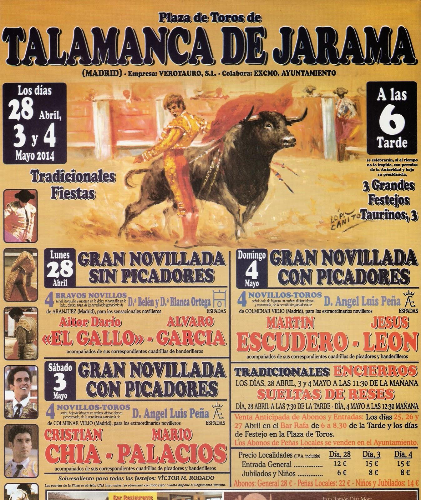 Talamanca de Jarama 2014