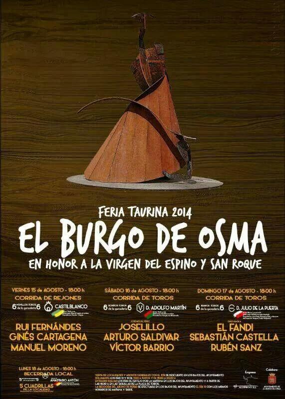 El Burgo de Osma 2014