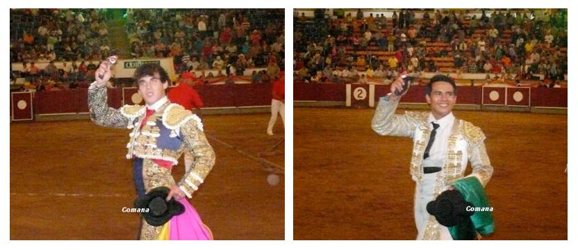 Gonzalo Caballero et José Antonio Valencia