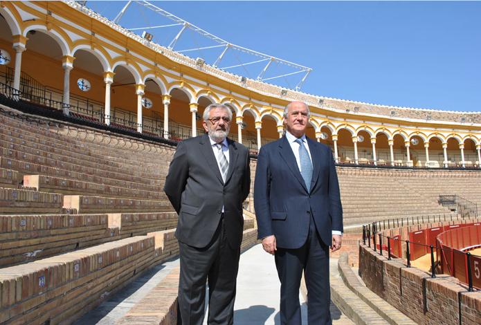 Eduardo Canorea et Ramón Valencia
