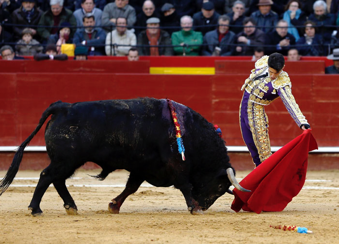 Talavante. Valencia 2015