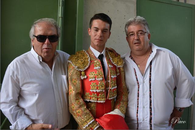 Philippe Cuillé, Manolo Vanegas et Didier Cabanis