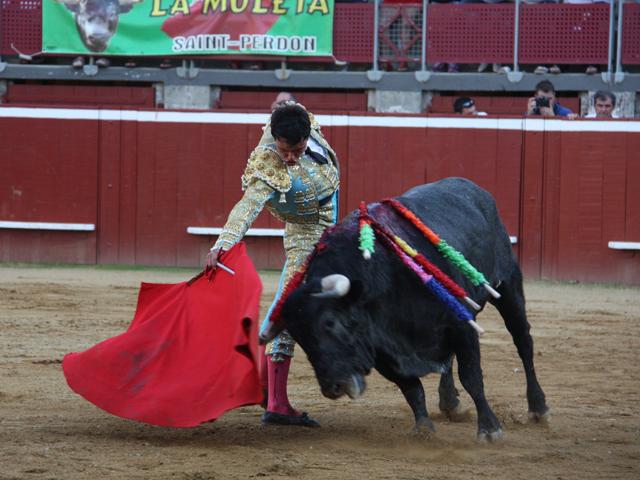 Juan de Castilla affrontant le Dolores Aguirre.