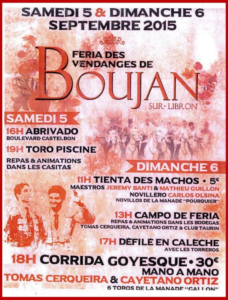 Boujan Vendanges 2015