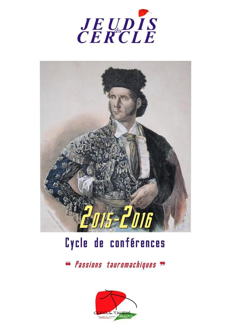 Jeudis du Cercle 2015.2016