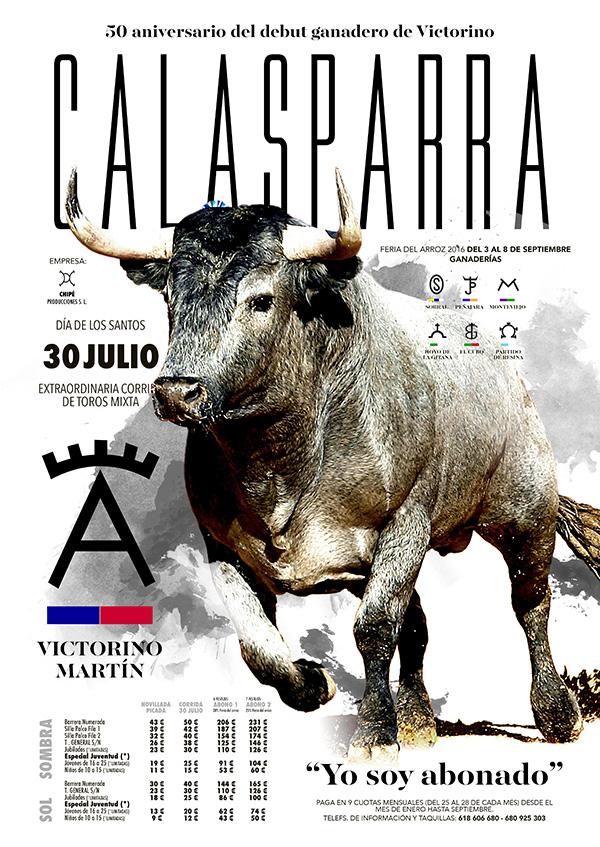 CARTEL CALASPARRA 50 ANIVERSARIO