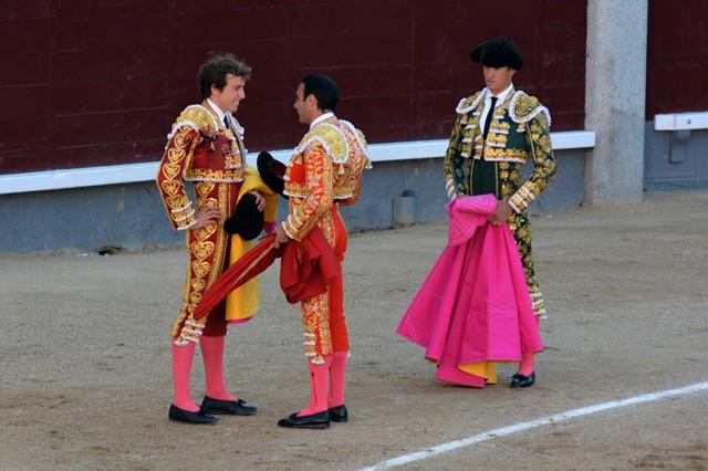 Confirmation d'alternative Roman Parrain Enrique Ponce Témoin Daniel Luque Toro Puerto de San Lorenzo Madrid 19052016 Photo © Ferdinand DE MARCHI