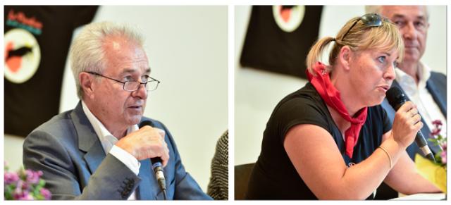 Claude Arnaud et Paulette Gougeon