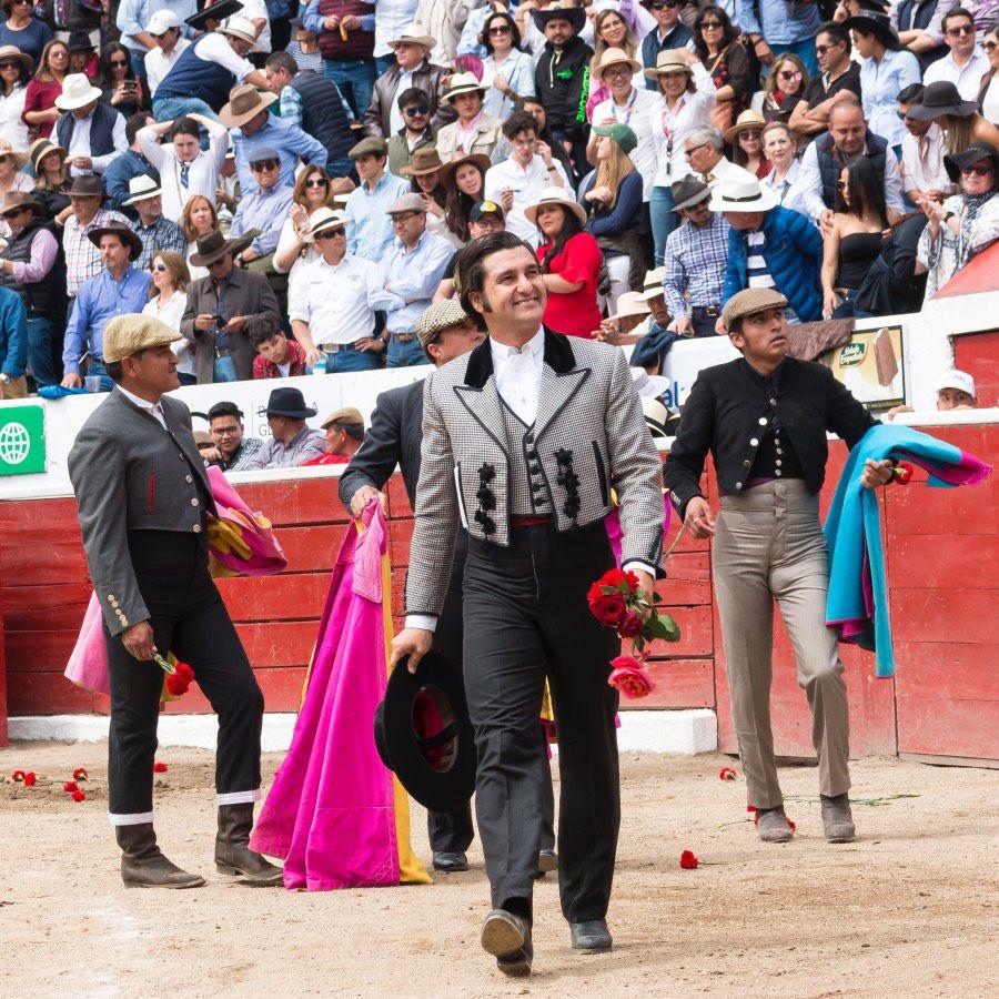 Latacunga. Morante séduit l'aficion lors du festival de clôture de la Feria.