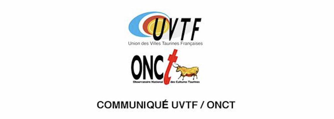 Communiqué UVTF-ONCT.