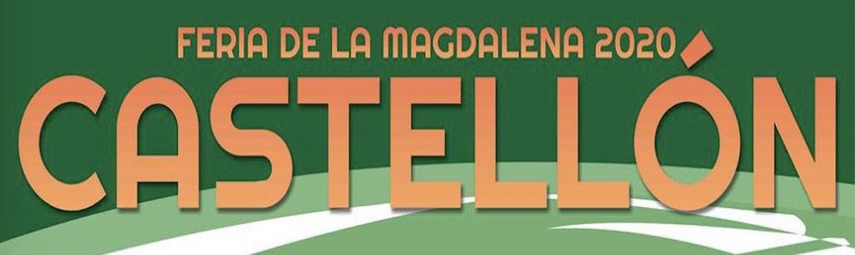 Castellon. Les cartels de la Feria de la Magdalena 2020.