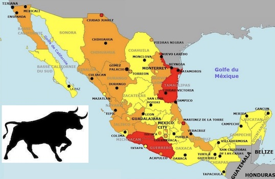 La semaine taurine au Mexique.