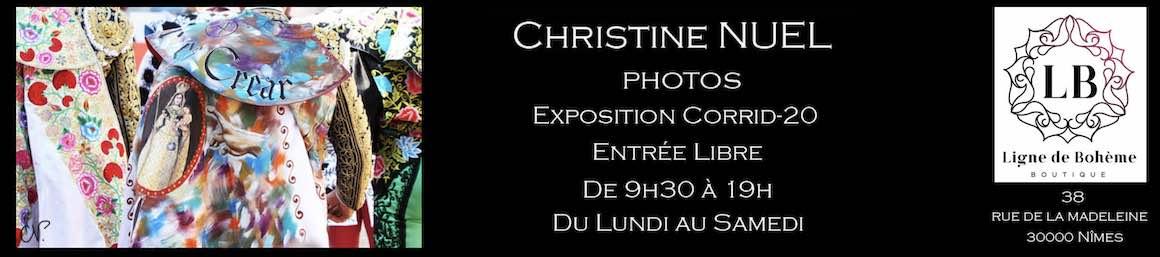 Nîmes. Exposition de photos de Christine Nuel.