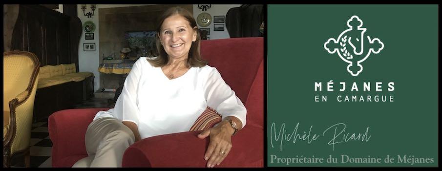 L'histoire du Domaine de Méjanes, par Michèle Ricard (34).