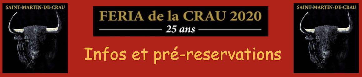 Infos et pré-réservations pour la Feria de la Crau 2020.