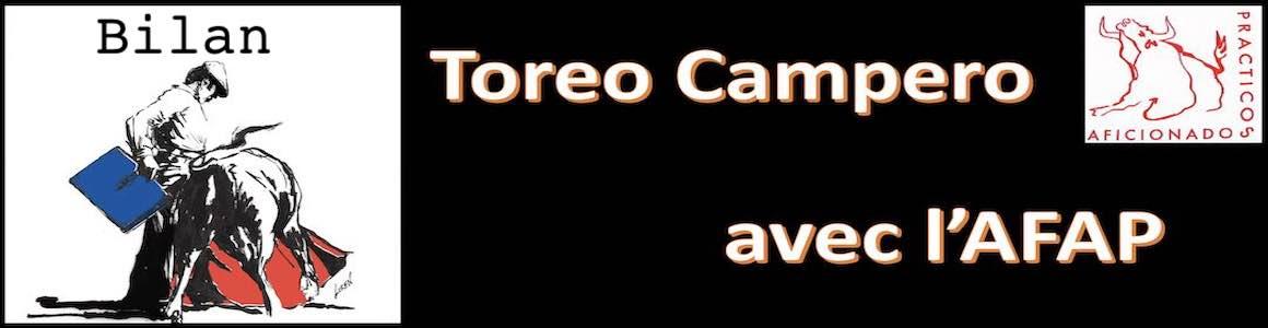AFAP :  Bilan du premier module Toreo Campero.