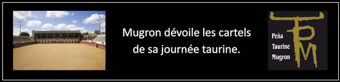Mugron dévoile les cartels de sa journée taurine.